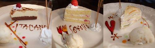 幸せのケーキ