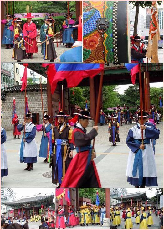 王宮守門将交代儀式